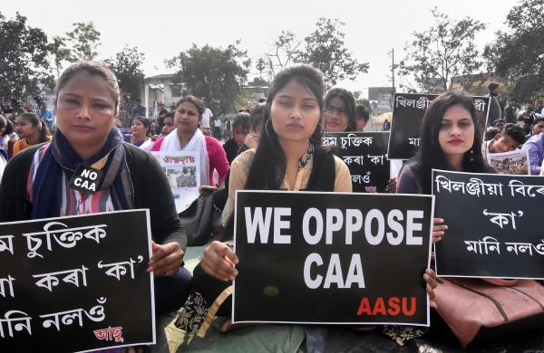 AASU head says not afraid of being spied on by Pegasus, fight against CAA to continue