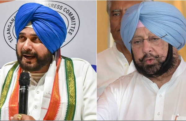 Amarinder writes to Sonia, expresses reservation over Sidhu as Punjab Congress chief