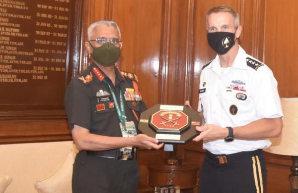Army Chief General MM Naravane holds talks with senior US commander Richard D Clarke