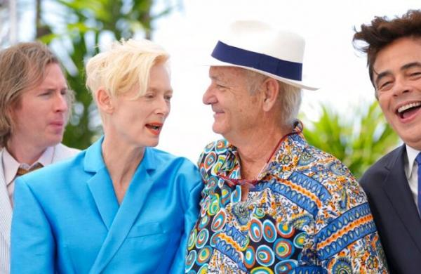 Bill Murray reunites with Wes Anderson, Tilda Swinton for new project