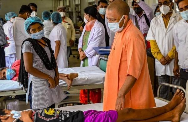 CM Yogi Adityanath reviews preparedness against possible COVID third wave in Ayodhya