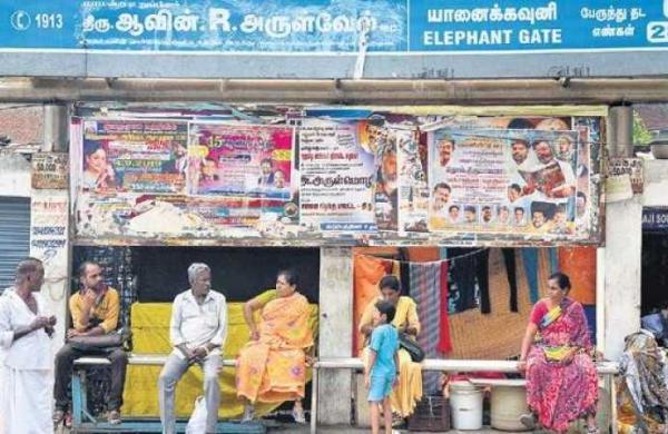 Chennai corporation begins drive to make public walls poster-free