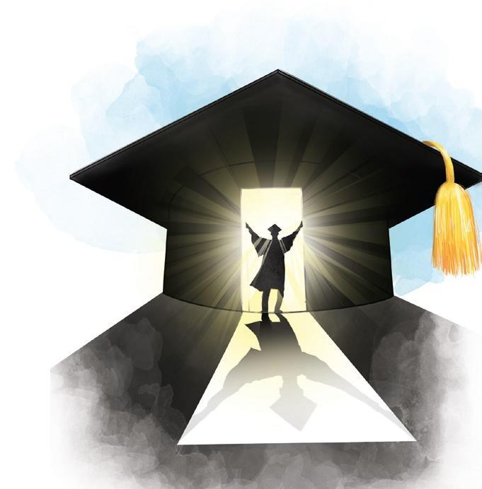 College illustration