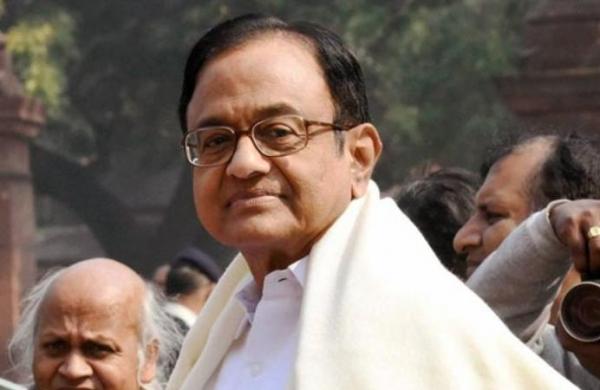 Gadkari must increase volume of his microphone: Chidambaram's dig atUnion Minister