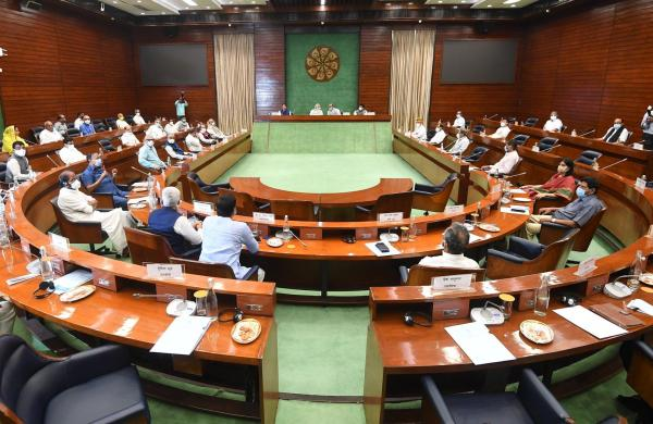 Government ready for healthy, meaningful discussion in Parliament: PM at all-party meet