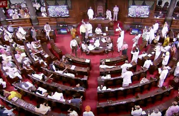 Govt to seek action against Opposition Rajya Sabha MPs over 'misbehaviour': Sources