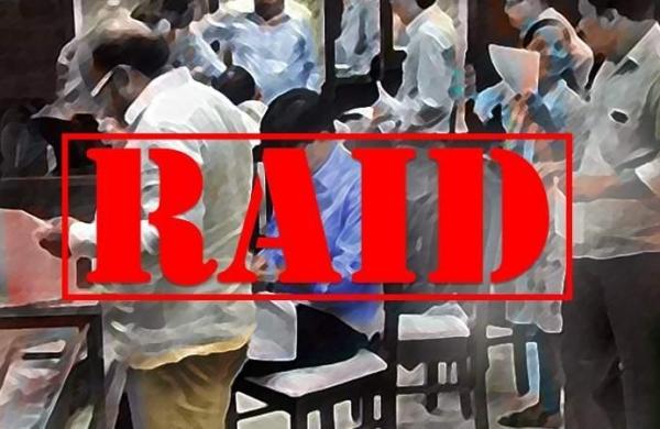 Income department raids multiple premises of media group Dainik Bhaskar