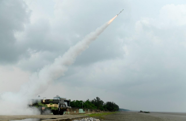 India successfully test-fires new generation Akash surface-to-air missile, anti-tank missile