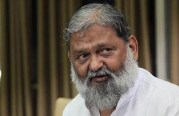 'Kejriwal has done PhD in speaking lies': Anil Vij hits out at AAP over water sharing row