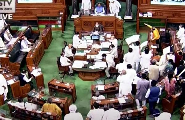 Lok Sabha proceedings adjourned till July 23 amid Opposition uproar