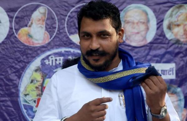 Madhya Pradesh: Azad Samaj Party chief Chandrashekhar Azad seeks CBI probe of murder of Dalit family