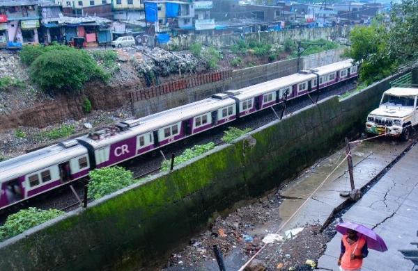 Maharashtra: Heavy rains wash out rail tracks near Kasara Ghat; train services hampered