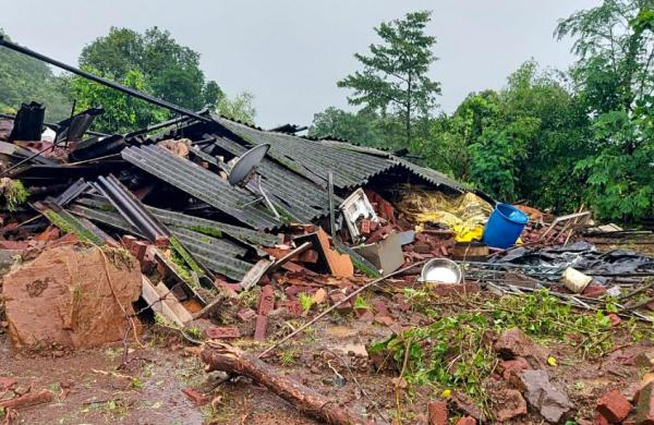 Maharashtra rains: Search operations called off in landslide-hit Taliye village in Raigad district