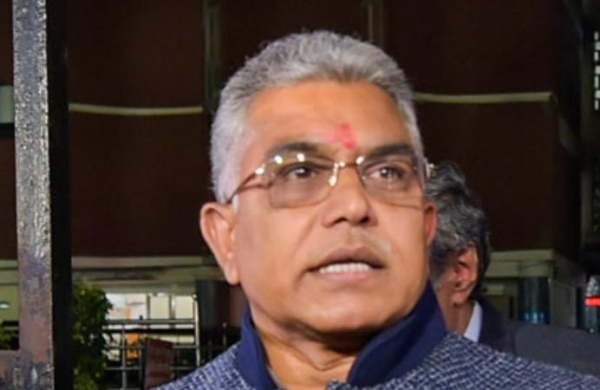 Mamata Banerjee wants to meet PM Modi to beg for funds: Dilip Ghosh