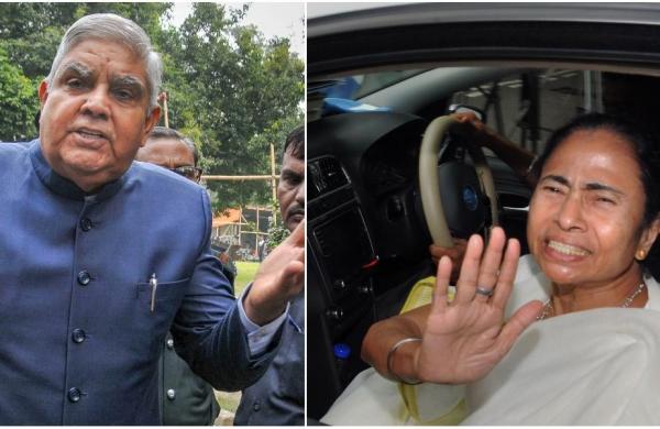 Mamata meets Bengal Governor Jagdeep Dhankhar amid tense tiesbetween Raj Bhawan,Trinamool