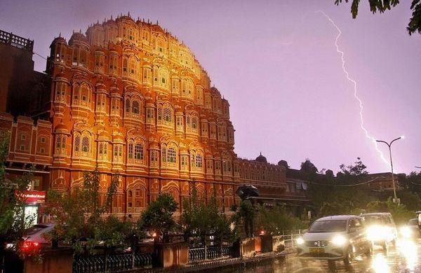 Monsoon wreaks havoc in Rajasthan as heavy lightning at Amber Fort leaves11 dead, 35 injured