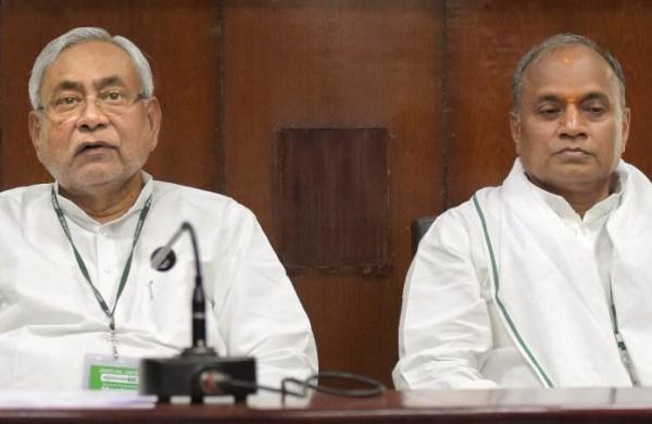 Nitish Kumar drops hinton replacingRCP Singh as JDU national president soon