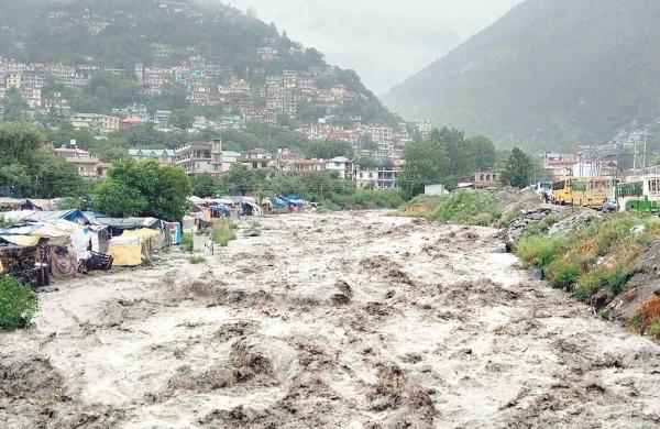 One dead, 10 missing in landslide andflash floods in Himachal Pradesh