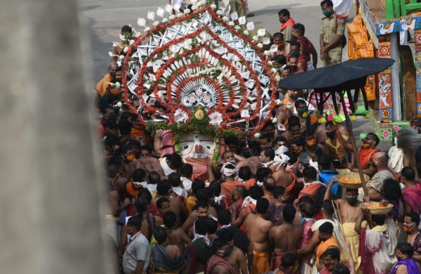 Rath Yatra remains low-key affair in Bengal for second year amid COVID curbs