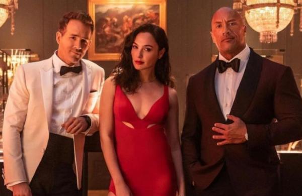 'Red Notice' starring Dwayne Johnson, Gal Gadot,Ryan Reynolds to release on Nov 12 on Netflix