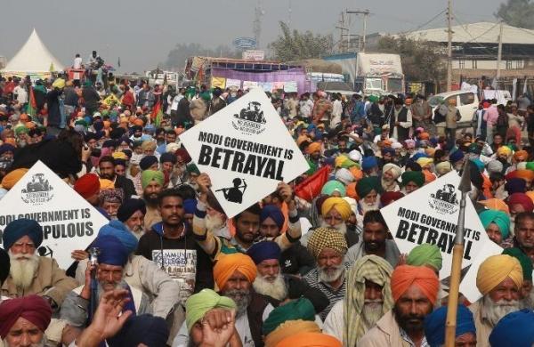 Sansad gherao: Samyukt Kisan Morcha accuses Delhi police of spreading misinformation