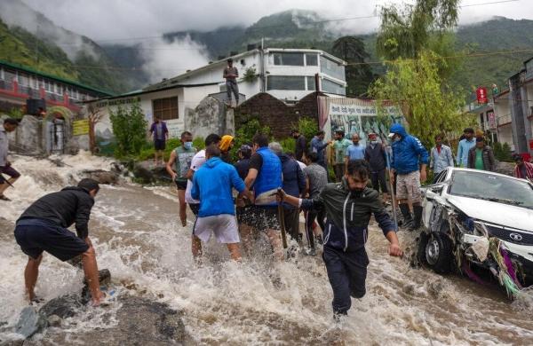 Three NDRF teams rushed to flash flood-affected regions of Himachal Pradesh
