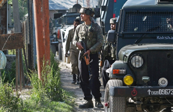 Two militants killed in encounter with security forces in J&K