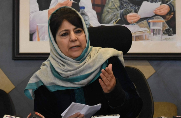 Won't contest polls until both constitutions are made applicable to J-K: Mehbooba