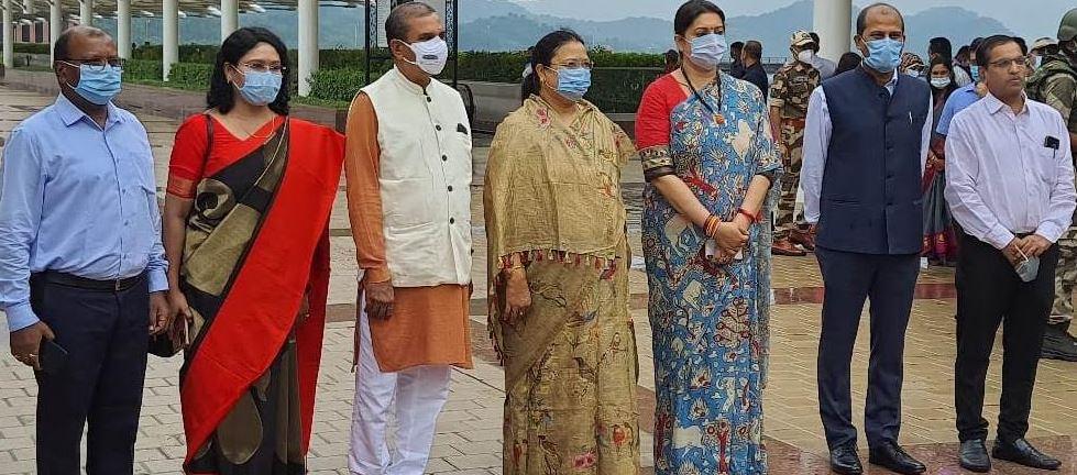 मंत्री श्रीमती भेंड़िया दो दिवसीय गुजरात दौरे पर