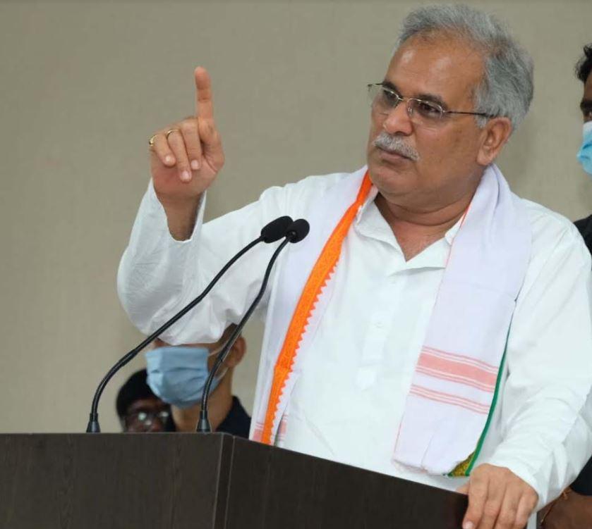 मुख्यमंत्री श्री भूपेश बघेल का किसानों के हित में बड़ा ऐलान