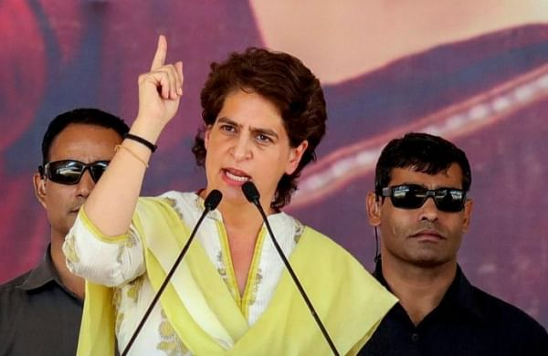 Adityanath govt cannot hide 'plight' of farmers by giving full page ads: Priyanka Gandhi