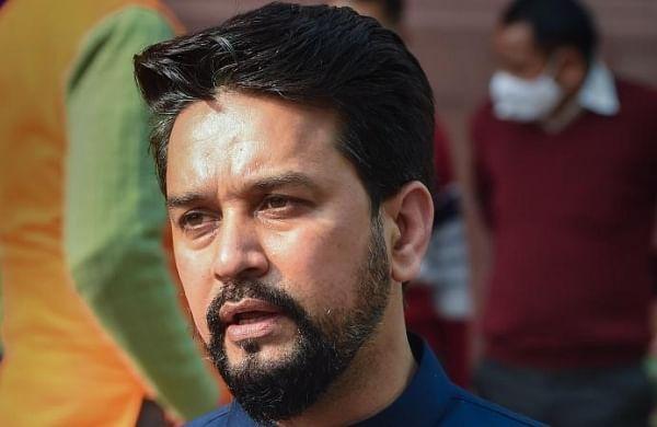 Anurag Thakur says Congress MP's conduct in Rajya Sabha shameful, likens it toRed Fort vandalism