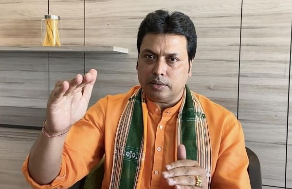 Committed to double farmers' income by 2025: Tripura CMBiplab Kumar Deb