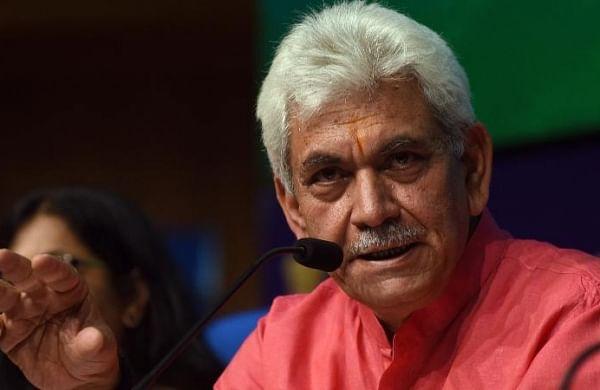 Governor Manoj Sinha, actor Amir KhanlaunchJ&K Film Policy