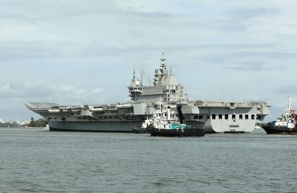 IAC 'Vikrant' returns after successfully completing five-day maiden sea voyage