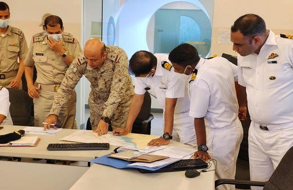 Maiden navy drill between India and Saudi Arabia begins