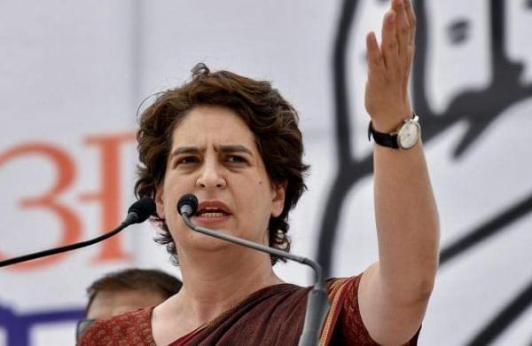 Priyanka slams Yogi government for claiming it provided fourlakh jobs