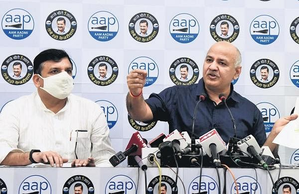 Tiranga Yatra: Sisodia, Sanjay Singh among 17 AAP leaders booked by UP police for violating Covid norms
