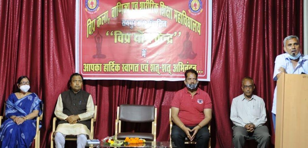 आरोग्य के साथ-साथ आत्म विकास के लिए योग आवश्यक- श्री ज्ञानेश शर्मा