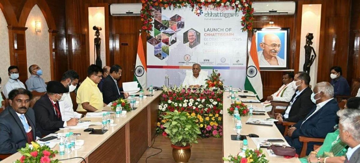 छत्तीसगढ़ में पूंजी निवेश की अपार संभावनाएं: मुख्यमंत्री श्री भूपेश बघेल :: ग्लोबल इन्वेस्टर्स मीट 'इन्वेस्टगढ़ छत्तीसगढ़ 2022' का आयोजन नवा रायपुर में 27 जनवरी से 1 फरवरी 2022 तक