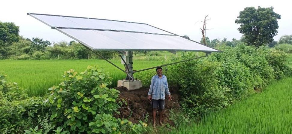 सौर ऊर्जा से धान और सब्जी की फसल से हो रही पर्याप्त आमदनी