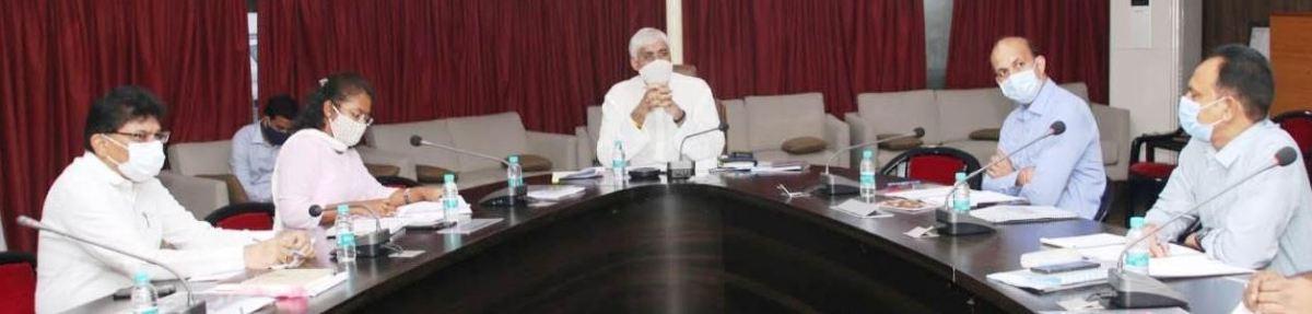 स्वास्थ्य मंत्री श्री सिंहदेव की अध्यक्षता में चन्दूलाल चन्द्राकर अस्पताल एवं मेडिकल कॉलेज संचालक मंडल की बैठक सम्पन्न