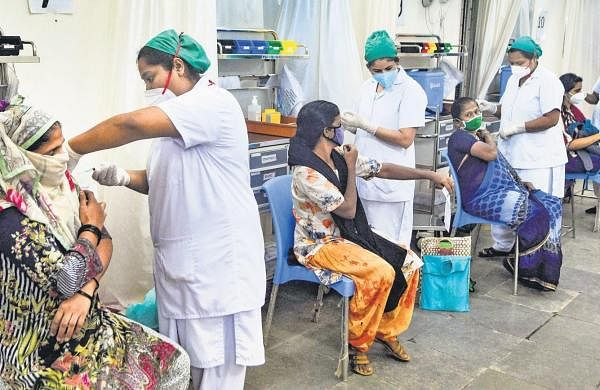 A quarter of adult population fully vaccinated, 30 districts reporting over 10 per cent positivity rate: Govt