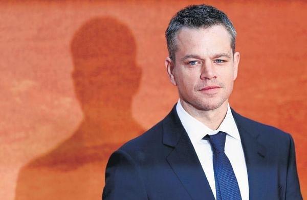 Actor Matt Damon reveals he has a private Instagram account