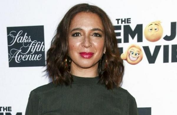 American actor and comedian Maya Rudolph takes home Emmy for 'SNL'