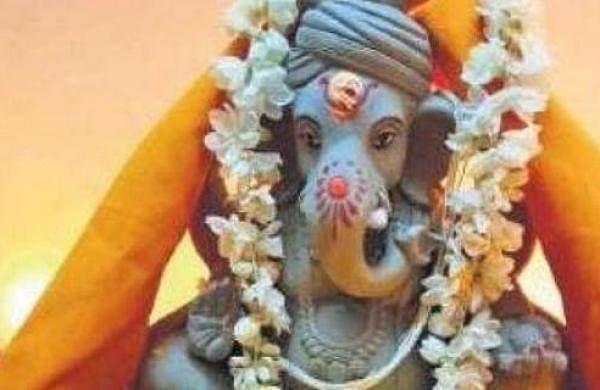 Artisans in Moradabad making small, eco-friendly Ganesha idols this year