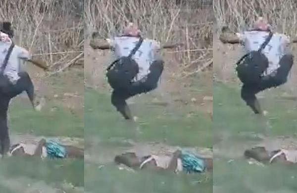 Assam police firing on 'encroachers': Video shows official photographer hitting dead man