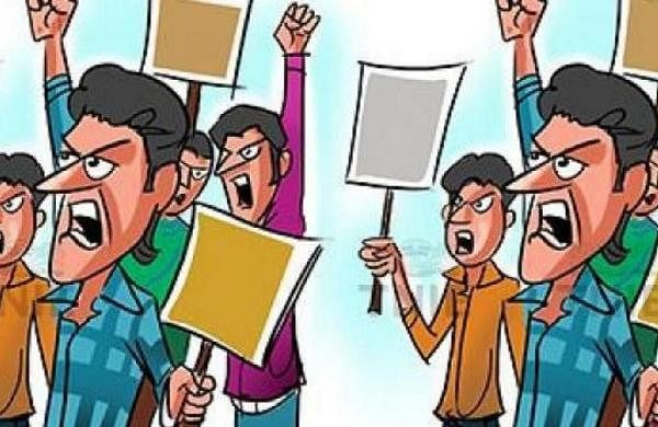 Beef recovery arrests: Protest held in Madhya Pradesh's Khargone, several booked
