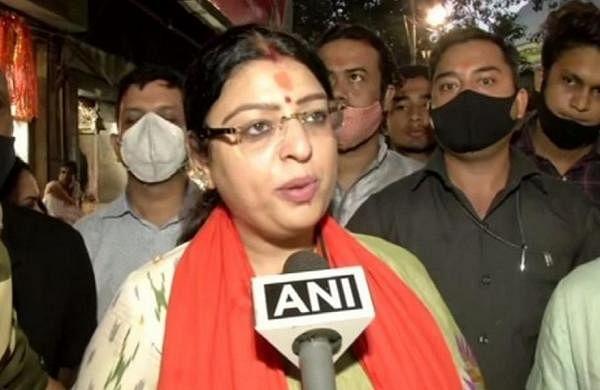 Bhowanipore bypoll: BJP candidate Priyanka Tibrewal holds rally ahead of filing nomination