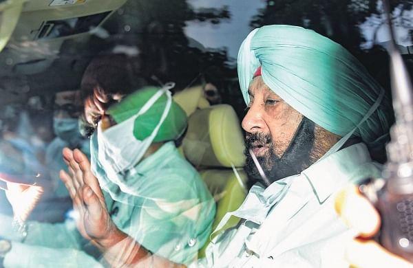 CaptAmarinder Singh in Delhi, denies plan to meet BJP brass